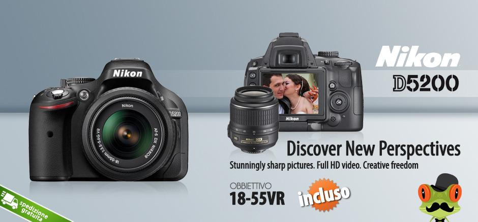 Nikon D5200 18-55 VR