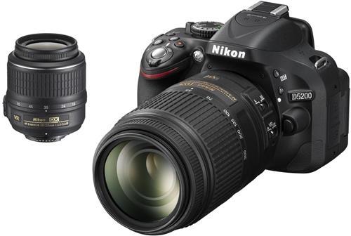 Nikon D5200 Obiettivo 18-55 VR