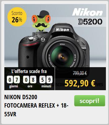 Nikon D5200 Prezzo