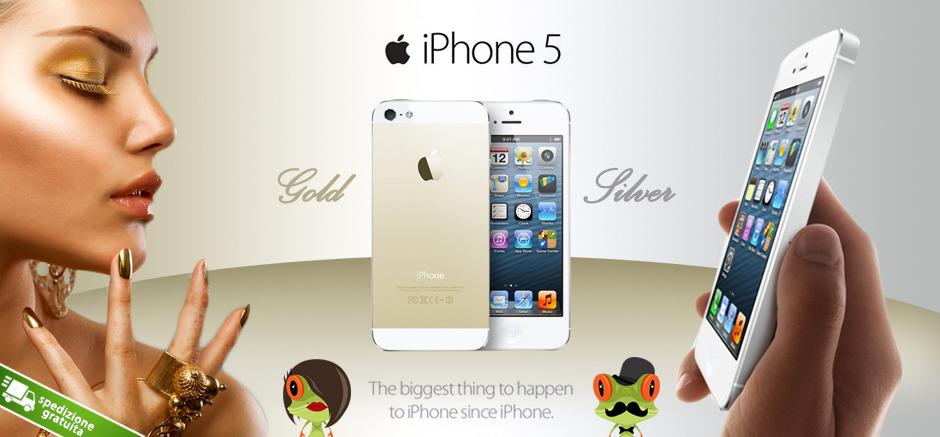 iphone 5s gold prezzo sconto